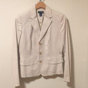 Striped Ann Taylor Suit Jacket